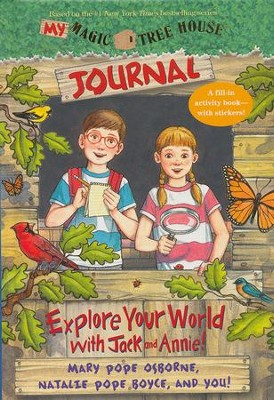 My Magic Tree House Journal  -     By: Mary Pope Osborne, Natalie Pope Boyce     Illustrated By: Sal Murdocca