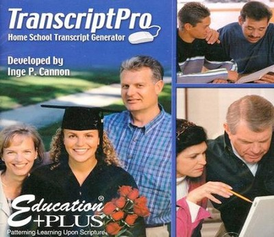 TranscriptPro CD-ROM   -     By: Inge Cannon