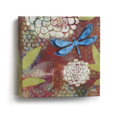 Blessed Wall Art, Small  -     By: Willie Green-Aldridge