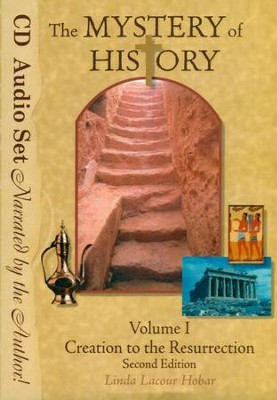 The Mystery of History Volume 1 Second Edition, Audio Book Set (10 Audio CDs)  -     By: Linda Lacour Hobar