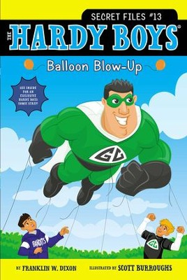 Balloon Blow-Up - eBook  -     By: Franklin W. Dixon     Illustrated By: Scott Burroughs