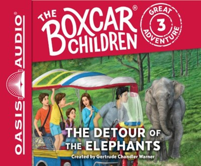 The Detour of the Elephants - unabridged audio book on CD  -     Narrated By: Aimee Lilly     By: Gertrude Chandler Warner