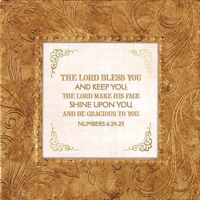 The Lord Bless and Keep you, Framed Print, 7X7  -