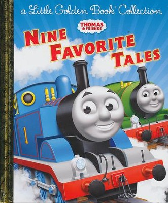 Thomas & Friends: Nine Favorite Tales (Thomas & Friends): A Little Golden Book Collection  -     By: Golden Books