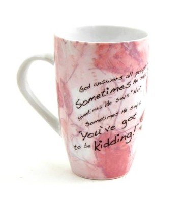 Answered Prayers--Porcelain Mug   -