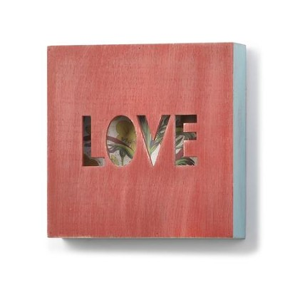 Love Box Plaque  -     By: Nathan Murrell