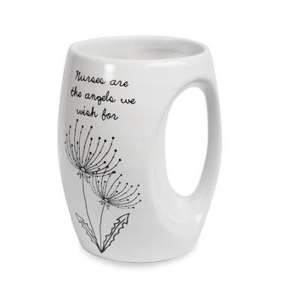 Nurses are the Angels We Wish for Mug  -
