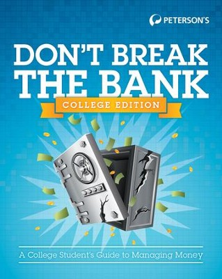 Don't Break the Bank: College Version - eBook  -