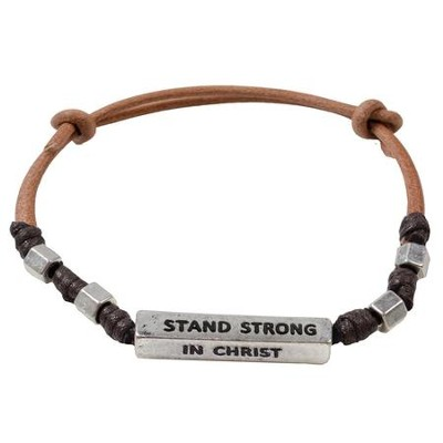 Stand Strong In Christ, Men's Bracelet  -