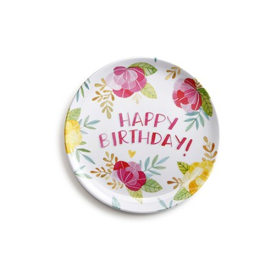 Happy Birthday Giving Plate  -