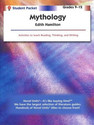 Mythology, Novel Units Student Book, Grades 9-12   -     By: Edith Hamilton