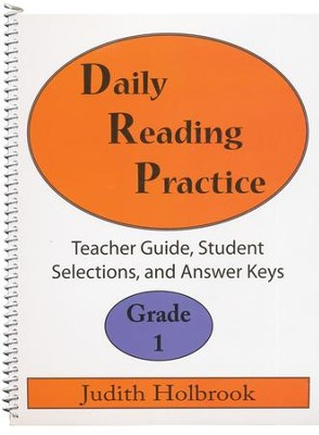 Daily Reading Practice Grade 1 Teacher Guide  -     By: Judith Holbrook
