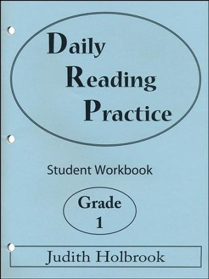 Daily Reading Practice Grade 1 Student Workbook  -     By: Judith Holbrook