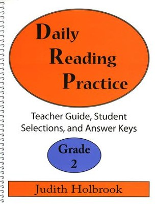 Daily Reading Practice Grade 2 Teacher Guide  -     By: Judith Holbrook