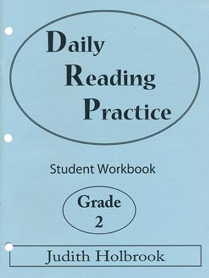 Daily Reading Practice Grade 2 Student Workbook  -     By: Judith Holbrook