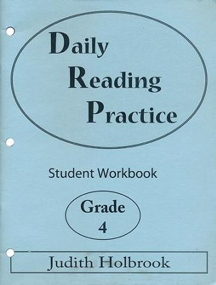 Daily Reading Practice Grade 4 Student Workbook  -     By: Judith Holbrook