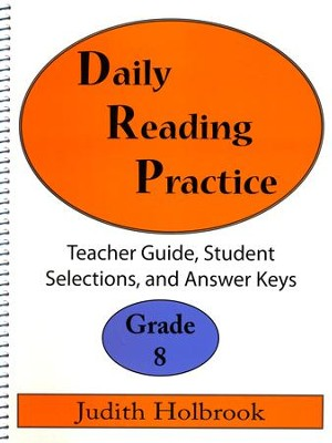 Daily Reading Practice Grade 8 Teacher Guide  -     By: Judith Holbrook