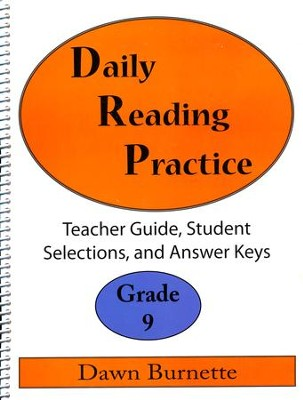 Daily Reading Practice Grade 9 Teacher Guide  -     By: Dawn Burnette