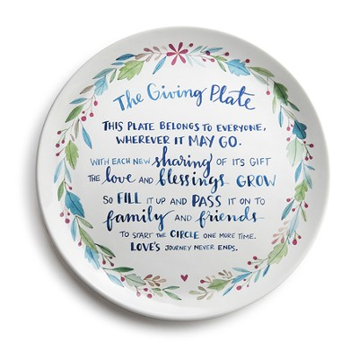 Traditional Giving Plate  -