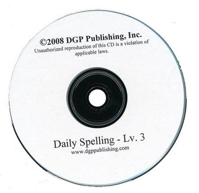 Daily Spelling Practice Level 3 Overheads on CD-ROM  -