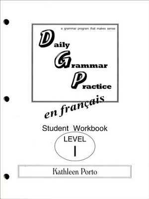 Daily Grammar Practice in French Level 1 Student  Workbook  -