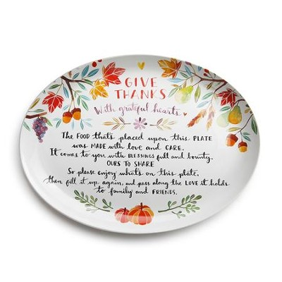 Give Thanks Giving Platter  -