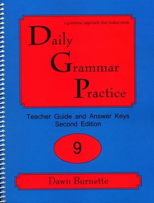 Daily Grammar Practice Grade 9 Teacher Guide (2nd Edition)  -     By: Dawn Burnette