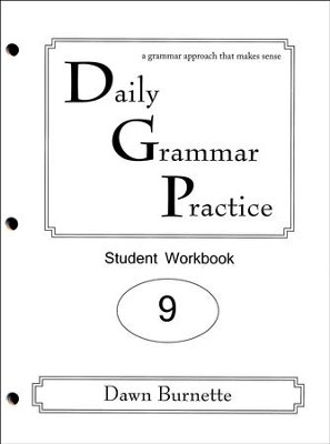 Daily Grammar Practice Grade 9 Student Workbook (2nd  Edition)  -     By: Dawn Burnette