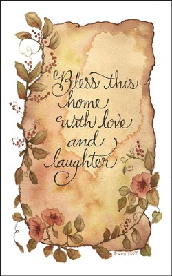Bless This Home Plaque  -     By: Diane Knott