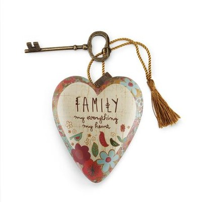 Family My Everything, My Heart Art Heart  -     By: Amylee Weeks