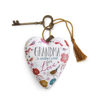 Grandma Is Another Word For Love Art Heart  -     By: Rebecca Jones