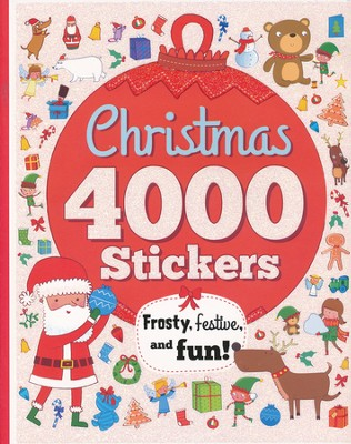 Christmas 4000 Stickers  -     By: Parragon Books