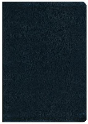 NKJV Life Application Study Bible. Large Print Black Bonded Leather, Indexed  -