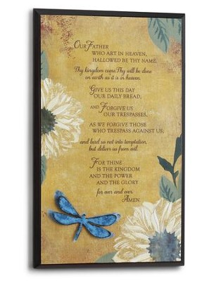 The Lord's Prayer Wall Art  -     By: Willie Green-Aldridge