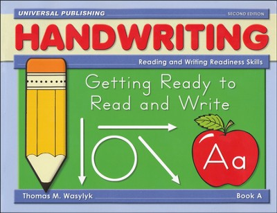 Getting Ready to Write-Book A, 2nd Edition Grades Pre-K - K  -     By: Thomas M. Wasylyk