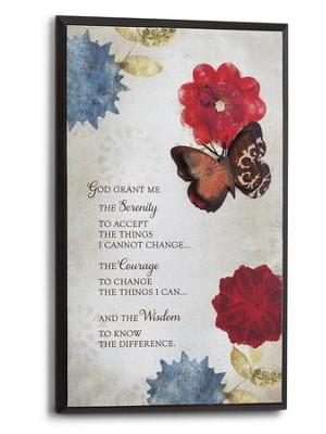 Serenity Prayer Wall Art serenity prayer wall art: willie green-aldridge - christianbook