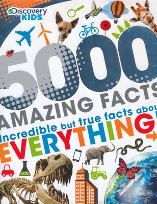 5000 Awesome Facts  -     By: Parragon Books