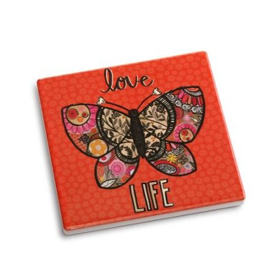Love Life Coaster and Greeting Card  -