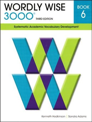 Wordly Wise 3000 Student Book Gr 6, 3rd Edition  - Slightly Imperfect  -     By: Kenneth Hodkinson, Sandra Adams