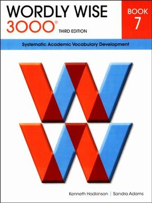 Wordly Wise 3000 Student Book 7, 3rd Edition   -     By: Kenneth Hodkinson, Sandra Adams