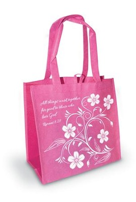 All Things Work Together - Romans 8:28 Eco Tote  -