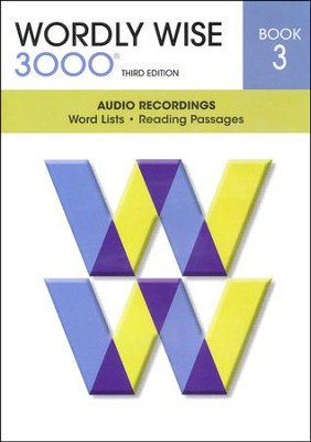 Wordly Wise 3000 Book 3 Audio CD, 3rd Edition   -