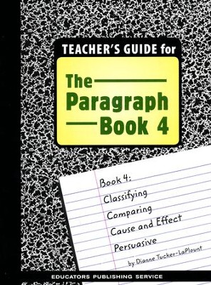 Book 4 Teacher's Guide   -     By: Dianne Tucker-LaPlount