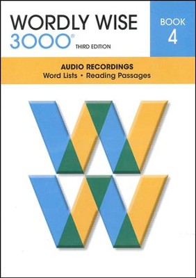 Wordly Wise 3000 Book 4 Audio CD, 3rd Edition   -