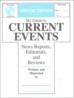 My Guide to Current Events, Grades 4-6   -