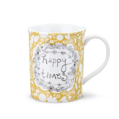 Happy Times Mug and Greeting Card  -