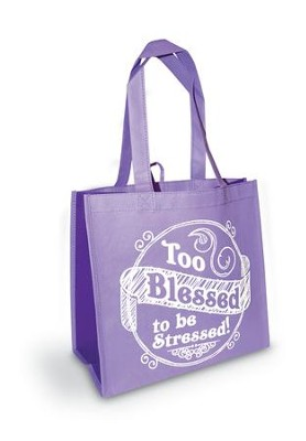 Too Blessed Eco Tote  -