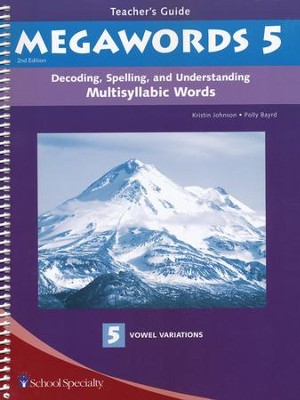 Megawords 5 Teacher's Guide, 2nd Edition   -