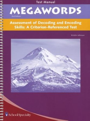 Megawords Assessment of Decoding and Encoding Skills   -