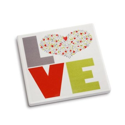 Love Coaster and Greeting Card  -